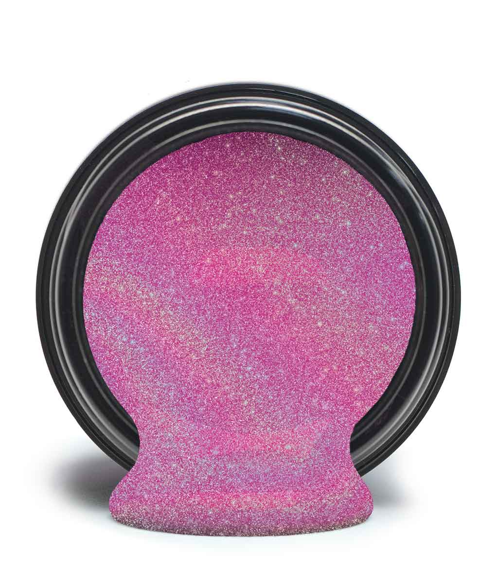 Glittergelé Led Pink garnet