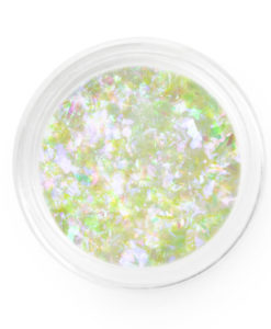 Supernova purple green flakes