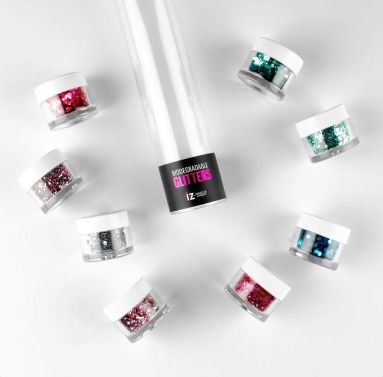 Glitter mix av 4 nya glitter
