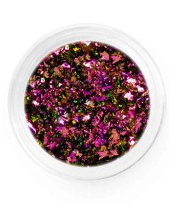Purple Gold Pink Chameleon Chrome Flakes