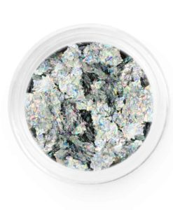 Silver Holo Metallic Chrome Flakes